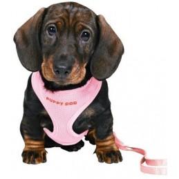 Trixie Puppy Soft petnešos su pavadėliu