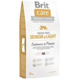 Brit Care Grain-free Senior Salmon & Potato