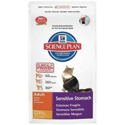 Hills Science Plan Feline Adult Sensitive Stomach Chicken with Egg & Rice