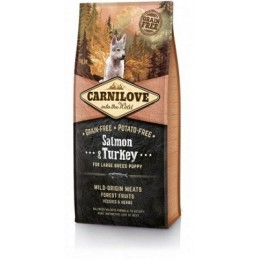 Carni Love Salmon & Turkey Puppy Large Breed