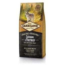 Carni Love Salmon & Turkey Adult Large Breed