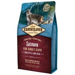 Carni Love Salmon Adult Cat Sensitive & Long Hair
