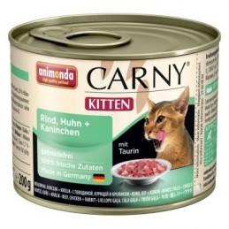 CARNY Kitten su vištiena ir triušiena