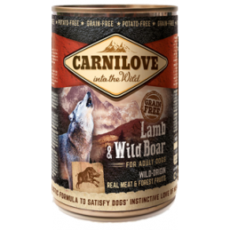 Carni Love Wild Meat Lamb & Wild Boar