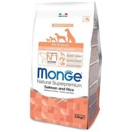 Monge All Breeds Puppy & Junior Salmon