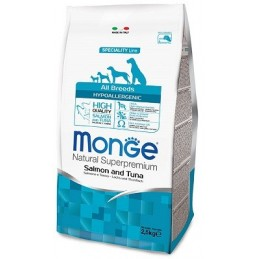 Monge All Breeds Hypoallergenic Salmon and Tuna
