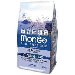 Monge All Breeds Grain Free with Anchovies
