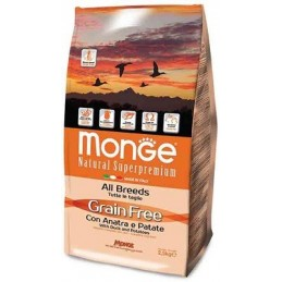 Monge All Breeds Grain Free with Duck