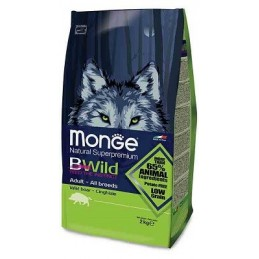Monge BWILD All Breeds Adult Wild Boar