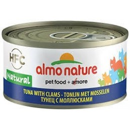 Almo Nature Tuna with Clams vaisiai