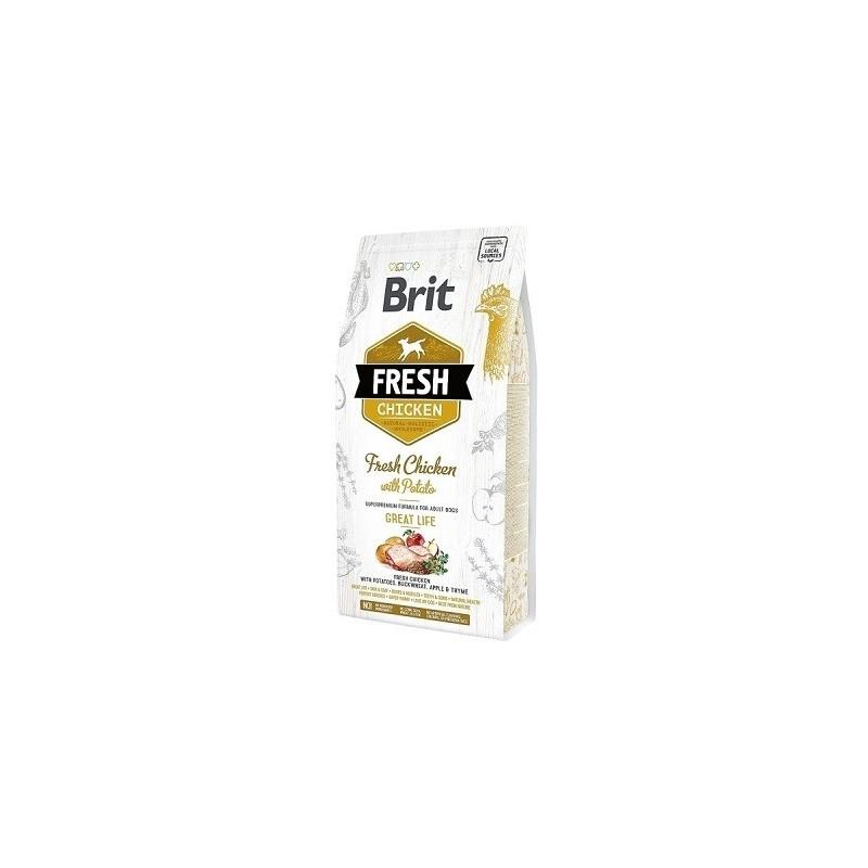 Brit Fresh Chicken with Potato Adult