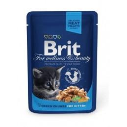 Brit Premium Chicken Chunks Kitten