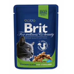 Brit Premium Chicken Slices Sterilised