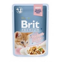 Brit Premium Delicate Chicken for Kitten in Gravy
