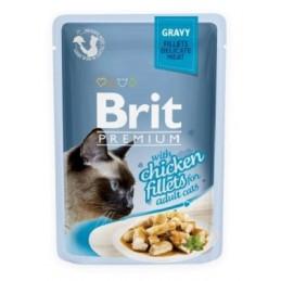 Brit Premium Cat Delicate Chicken in Gravy