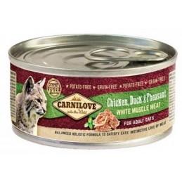Carni Love Chicken, Duck&Pheasant konservai
