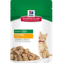 HILLS Science Plan Feline Kitten Chicken konservai 85g