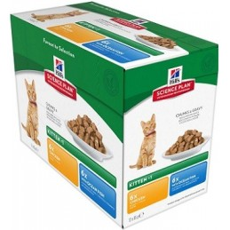 HILL'S SP Feline Kitten Multipack konservai