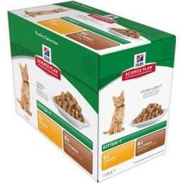 HILLS SP Feline Kitten Chicken/Turkey konservai