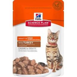 HILL'S SP Feline Adult Turkey konservai