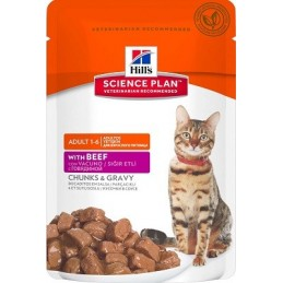 Hill's Sp Feline Adult Beef guliašas