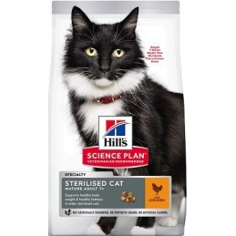 HILL'S Science Plan Feline Sterilised Mature Cat Chicken