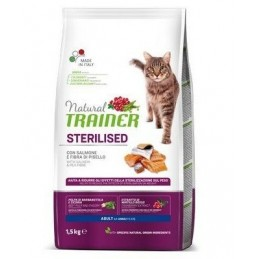 Trainer Natural Adult Sterilised Cat with Salmon
