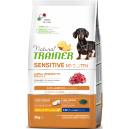 Natural Trainer DOG SENSITIVE NO GLUTEN ADULT MINI LAMB