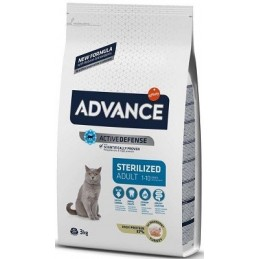 Advance Cat Sterelized Adult Turkey & Barley