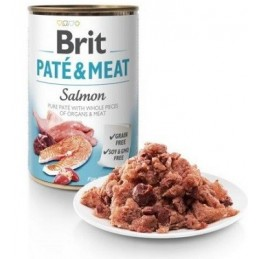 Brit Care Salmon Pate & Meat