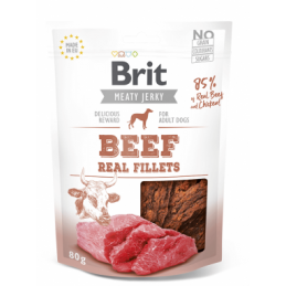Brit Jerky Beef Real...