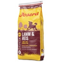 Josera Lamb & Rice sausas...