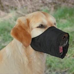 Šuns antsnukis, S-M, juodas