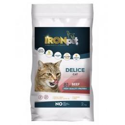 IRONpet Cat Delice Beef...