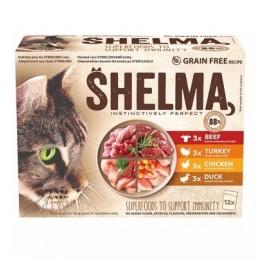 SHELMA MIX Kačių konservai