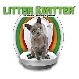 Litter Kwitter Priemonių rinkinys pripratinančių katę prie tualeto