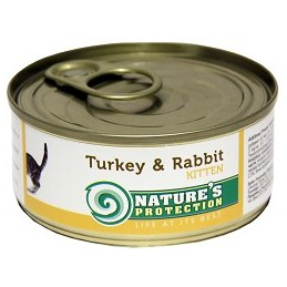 Nature's Protection Kitten Turkey Rabbit