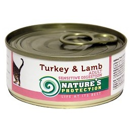 Nature's Protection Cat Sensible Digestion Turkey & Lamb