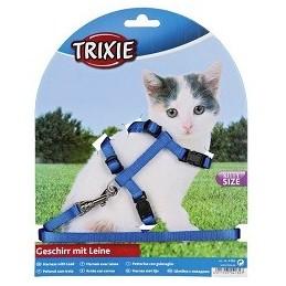 Trixie Petnešos su pavadėliu kačiukams